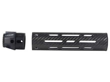 Lancer Systems LCH Free Float Tube Handguard AR-15 Mid Length Vented Carbon Fiber
