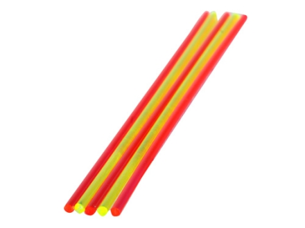 "TRUGLO Replacement Fiber Optic Rod 5.5"" x .100"" Green, Ruby Red Package of 5"