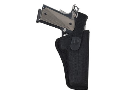Bianchi 7000 AccuMold Sporting Holster Right Hand CZ 75, Glock 17, 20, 21, 22, Ruger P89, P90, P91, P94 Nylon Black