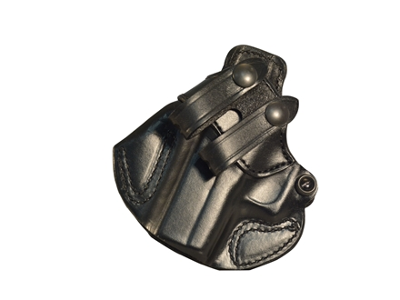 DeSantis Cozy Partner Inside the Waistband Holster Left Hand Smith & Wesson M&P Shield Leather Black