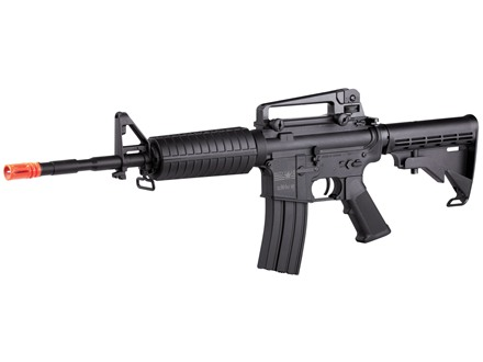 U.S. Army DCM4A1 NF Series 6mm Electronic Airsoft Rifle Black Nylon Fiber Stock Matte Aluminum Barrel