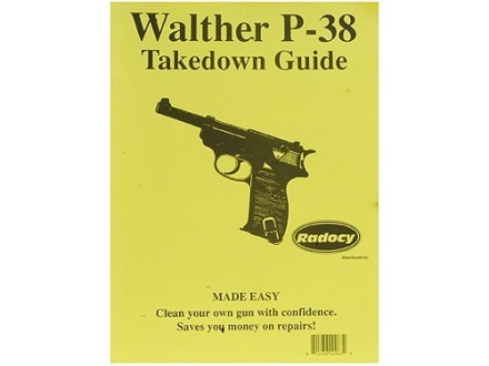 "Radocy Takedown Guide ""Walther P-38"""