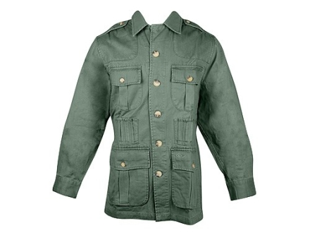 Boyt Shumba Safari Jacket Long Sleeve Cotton Twill