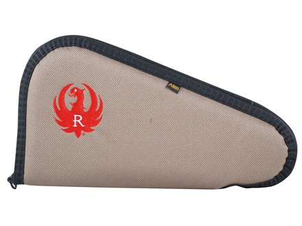 Ruger Embroidered Pistol Gun Case Tan