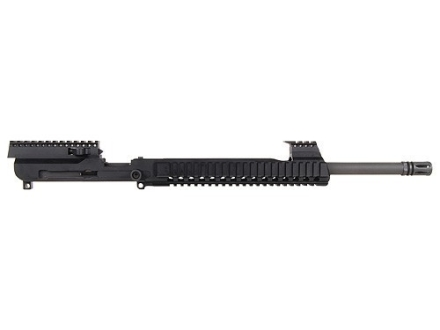 "AR57 AR-15 AR57 Upper Assembly 5.7x28mm FN 1 in 8 1/2"" Twist 16"" Barrel Chrome Moly with Free Float Quad Rail Handguard, Flash Hider, Pre-Ban"
