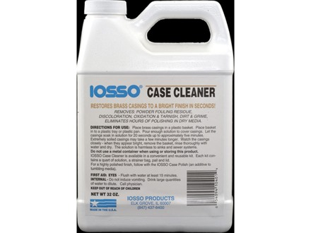Iosso Brass Case Cleaner 32 oz Liquid