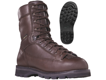 "Danner Elk Ridge GTX 9"" Waterproof 600 Gram Insulated Hunting Boots Leather and Nylon Brown Mens 12 D"
