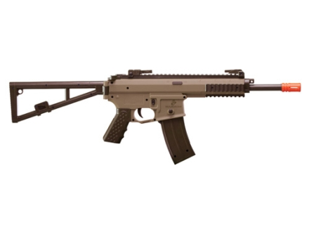 Marines Airsoft SRO1 Airsoft Rifle 6mm Spring Single-shot Polymer Tan and Black