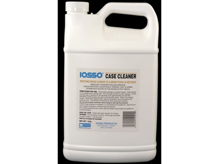 Iosso Brass Case Cleaner 1 Gallon Liquid