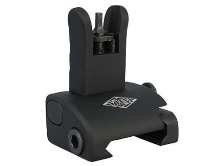 Yankee Hill Machine QDS Quick Deploy Flip-Up Standard Front Sight Handguard Height AR-15 Flat-Top Aluminum Matte