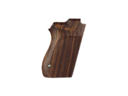 Hogue Fancy Hardwood Grips S&W 4516, 4013, 4053 Checkered Cocobolo