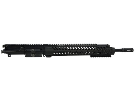 "Adams Arms AR-15 A3 Evo Ultra Lite Mid Length Gas Piston Upper Assembly 5.56x45mm NATO 1 in 7"" Twist 14.5"" Barrel Melonite Finish 12"" Extended Free Float Modular Handguard Permanent Flash Hider"