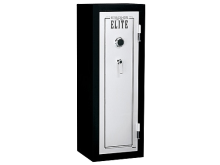 Stack-On Full Sized Fire Resistant Executive Safe with Combination Lock and 4 Shelves Black/Silver