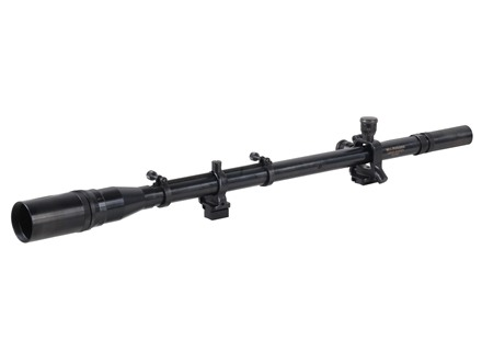 "Leatherwood Hi-Lux William Malcolm USMC Sniper Rifle Scope 3/4"" Tube 8x 31mm 23"" Long Fine Crosshair Reticle with External Ring-Mounts 1/2"" Dovetail Matte Steel"