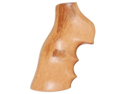 Hogue Fancy Hardwood Grips with Finger Grooves Ruger GP100, Super Redhawk Goncalo Alves