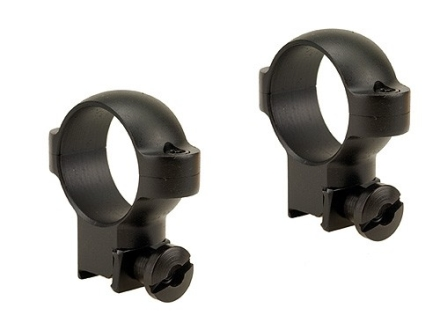 "Burris 1"" Deluxe Rings 22 Rimfire Steel Matte High"