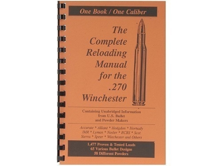 "Loadbooks USA ""270 Winchester"" Reloading Manual"