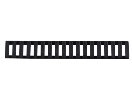 Wilson Combat Low Profile Picatinny Rail Cover Long 18 Slots Rubber Black