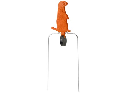 "Champion Duraseal Swinging Prairie Dog Reactive Target 7"" Ballistic Polymer Orange"