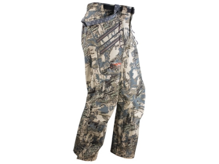 Sitka Gear Men's Coldfront Rain Pants Polyester Gore Optifade Open Country Camo Large 34-37