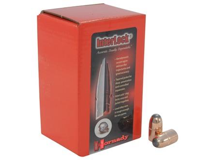 Hornady InterLock Bullets 45 Caliber (458 Diameter) 350 Grain Round Nose Box of 50