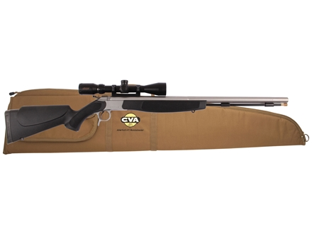 CVA Optima V2 Muzzleloading Rifle with KonusPro 3-9 x 40mm Scope and Soft Case