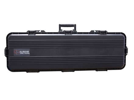 Plano AW All Weather Series Tactical Rifle Gun Case Polymer Black