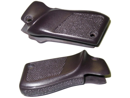 Vintage Gun Grips Unique Escort Corsair 1-Piece Polymer Black