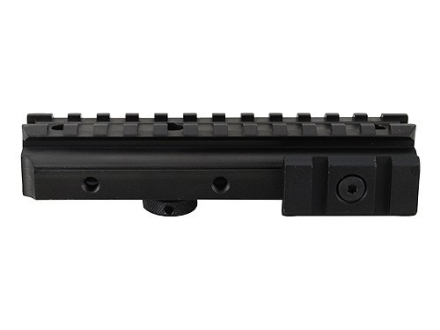 NcStar Tri-Mount Weaver-Style Conversion with Adjustable Side Tabs AR-15 Carry Handle Matte