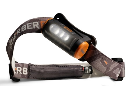 Gerber Bear Grylls Hands-Free Torch Headlamp LED with 1 AAA Battery Polymer