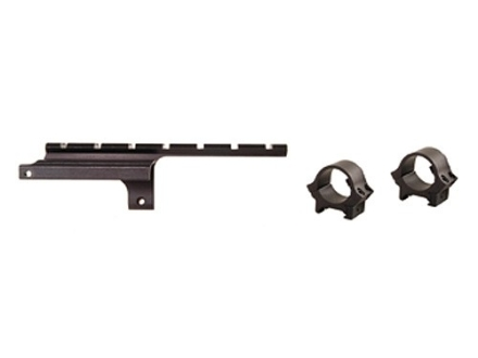 """B-Square Military Weaver-Style Scope Base with 1"""" Rings British SMLE #4 Mark I and #5 Gloss"""