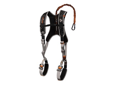 Big Game The Diamondback Deluxe Treestand Safety Harness Black