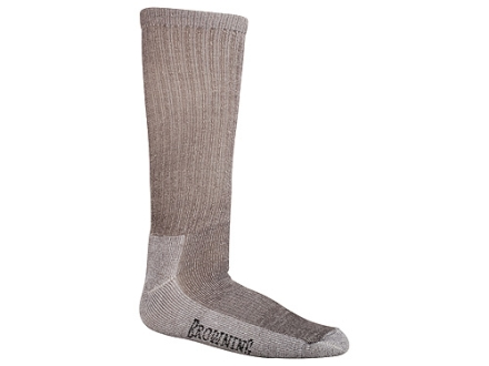 Browning Men's Merino Year Rounder Socks Wool Blend Charcoal Large 10-13