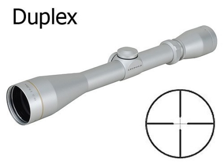 Leupold VX-II Rifle Scope 3-9x 40mm Duplex Reticle Silver Blemished