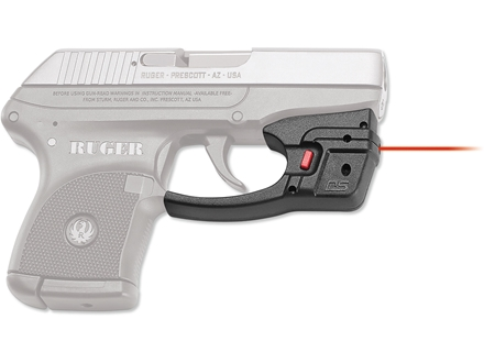 Crimson Trace Defender Series Accu-Guard Laser Ruger LCP Polymer Black