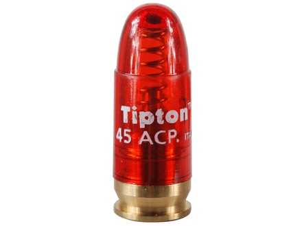 Tipton Snap Cap 45 ACP Polymer Package of 5