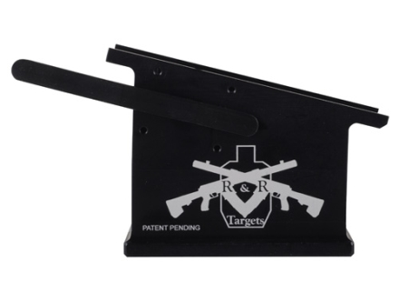 R&R Targets Straight Insert Magazine Well Conversion Saiga 12 Gauge Aluminum Black
