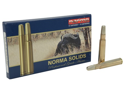 Norma Solid Ammunition 416 Rigby 400 Grain Solid Box of 10