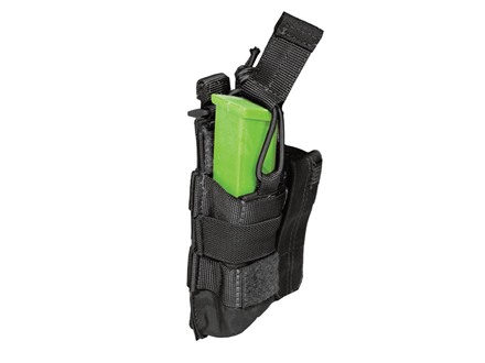 5.11 Double Pistol Magazine Pouch with Bungee Cover Nylon