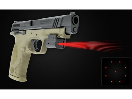 LaserLyte Center Mass Red Laser System with Picatinny-Style Mount