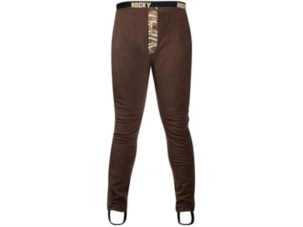 "Rocky Men's Waterfowler Wader Pants Polyester Brown and Realtree Max-4 Camo Large 35-38 Waist 32"" Inseam"