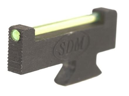 "SDM Super Sight S&W Revolvers Classic, DX .300"" Height .125"" Width .080"" Fiber Optic Green"