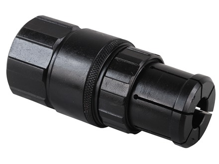 Advanced Armament Co (AAC) Triad Fast Attach HK-Style 3-Lug Barrel Adapter ECO-9, EVO-9 Suppressors Stainless Steel Black