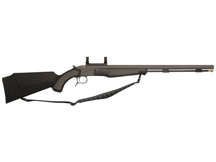 "CVA Accura MR Muzzleloading Rifle 50 Caliber 25"" Fluted Stainless Steel Barrel Synthetic Stock Black"