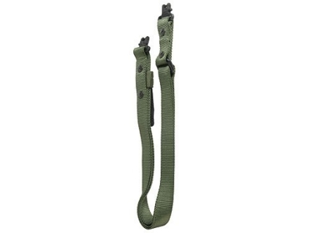 The Outdoor Connection Super Sling with Swivels Nylon Olive Drab