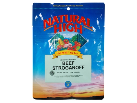 Natural High Beef Stroganoff with Noodles Freeze Dried Meal 5.62 oz