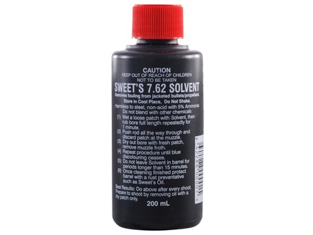 Sweet's 7.62 Bore Cleaning Solvent 200 ml Liquid
