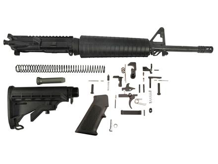 "Del-Ton Mid-Length Carbine Kit AR-15 5.56x45mm NATO 1 in 7"" Twist 16"" Chrome Lined Medium Contour Barrel"