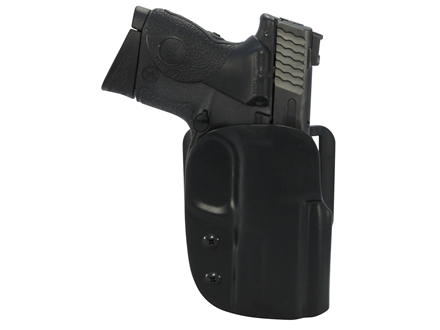 Blade-Tech ASR Outside the Waistband Holster Right Hand Smith & Wesson M&P Compact 9mm, 40 S&W Kydex Black