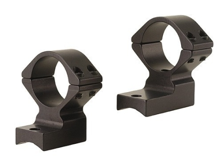"Talley Lightweight 2-Piece Scope Mounts with Integral 1"" Extended Front Savage 10 Through 16, 110 Through 116 Round Rear, Axis Matte High"